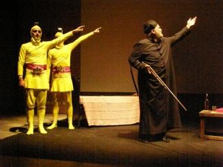 Luoghi, tracce - In teatro