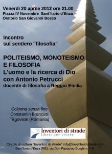 Politeismo monoteismo e filosofia - Locandina