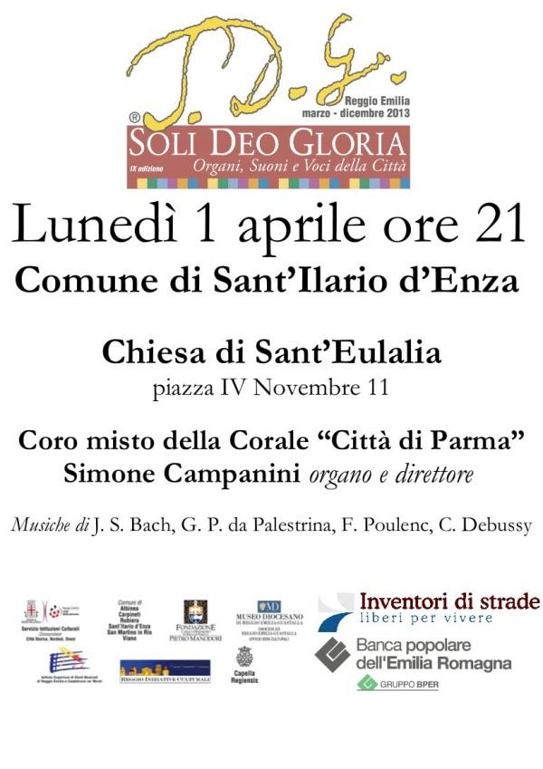 Soli Deo Gloria - Rassegna musicale - Locandina