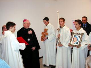 Caritas - Inaugurazione anno 2000