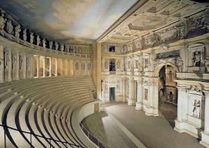 Interno del Teatro Olimpico